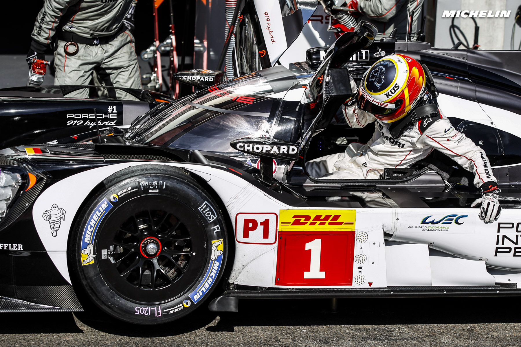 FIA WEC (Spa): Porsche/Michelin earns front row start at ...
