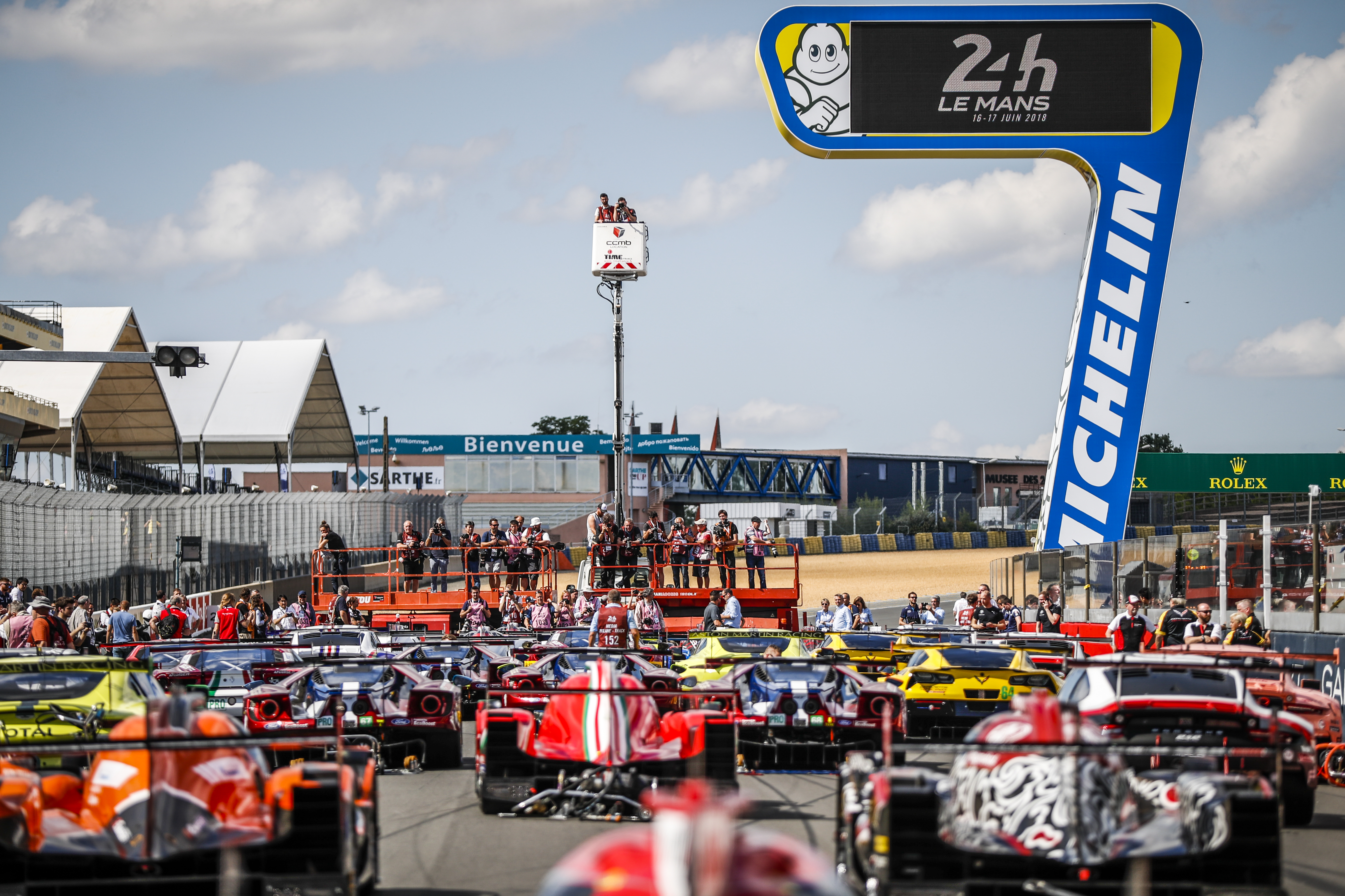 Le Mans 24 Hours: A full house for Michelin at the 2018 Le Mans Test Day