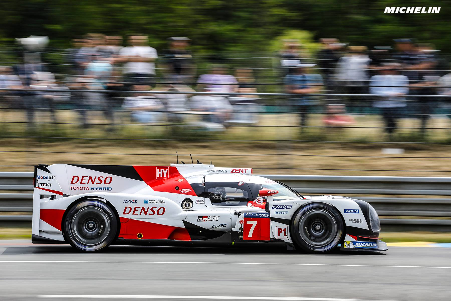 Le Mans 24 Hours: Toyota/Michelin dominates Test Day