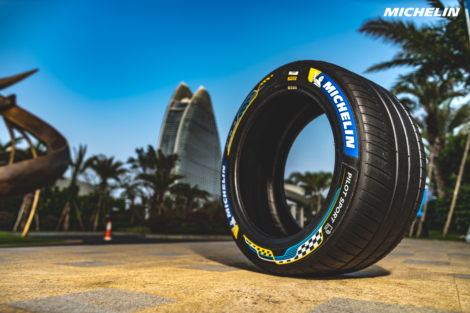 Formula E: The Michelin Pilot Sport: tried and approved in many different conditions