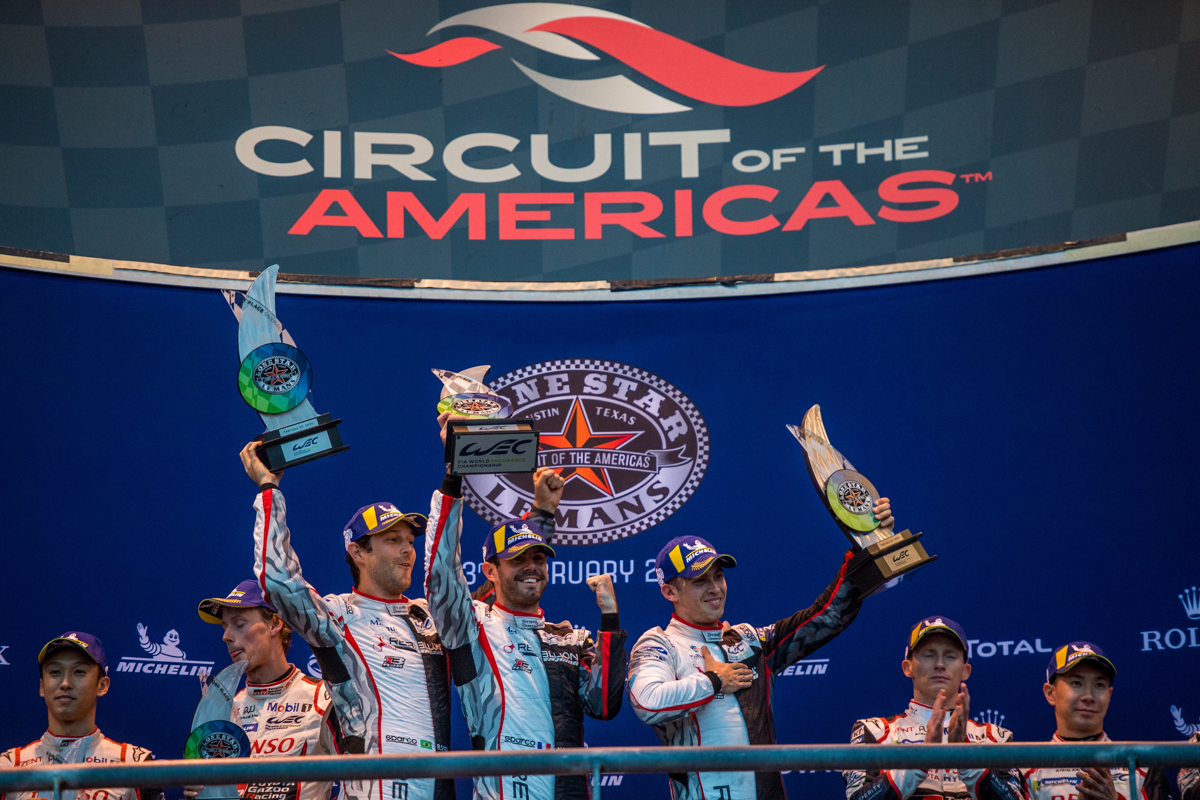 Grand-slam glory for Michelin in Texas