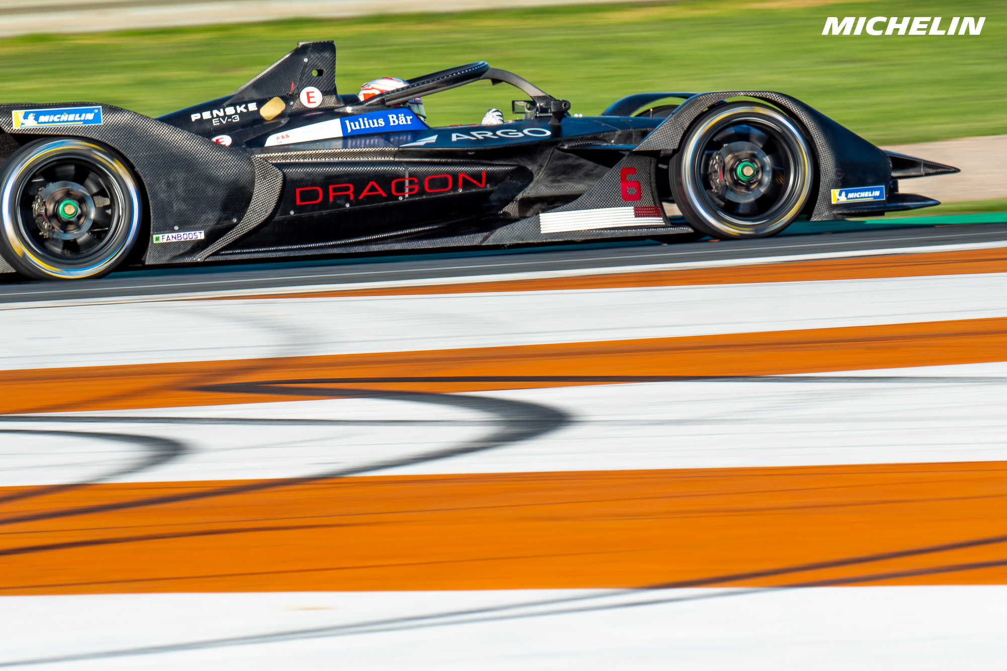 FIA Formula E: Michelin and the Gen2 cars in action at Valencia