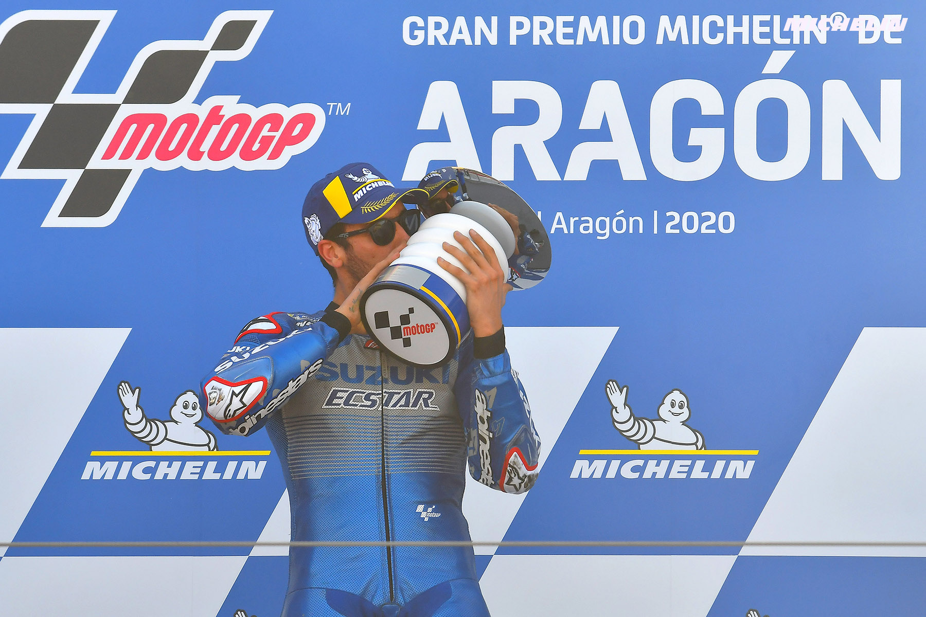 MotoGP™: Rins becomes 2020's eighth victor in Spain