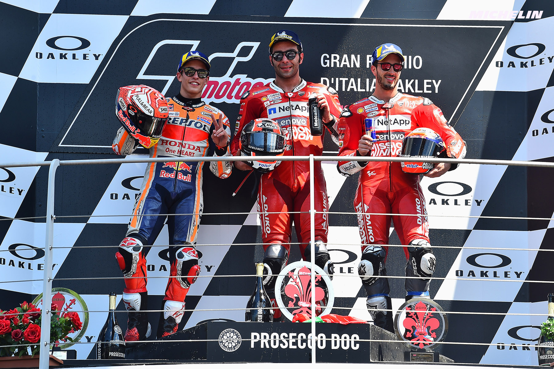 MotoGP™ - Danilo Petrucci earns maiden MotoGPTM victory at Mugello