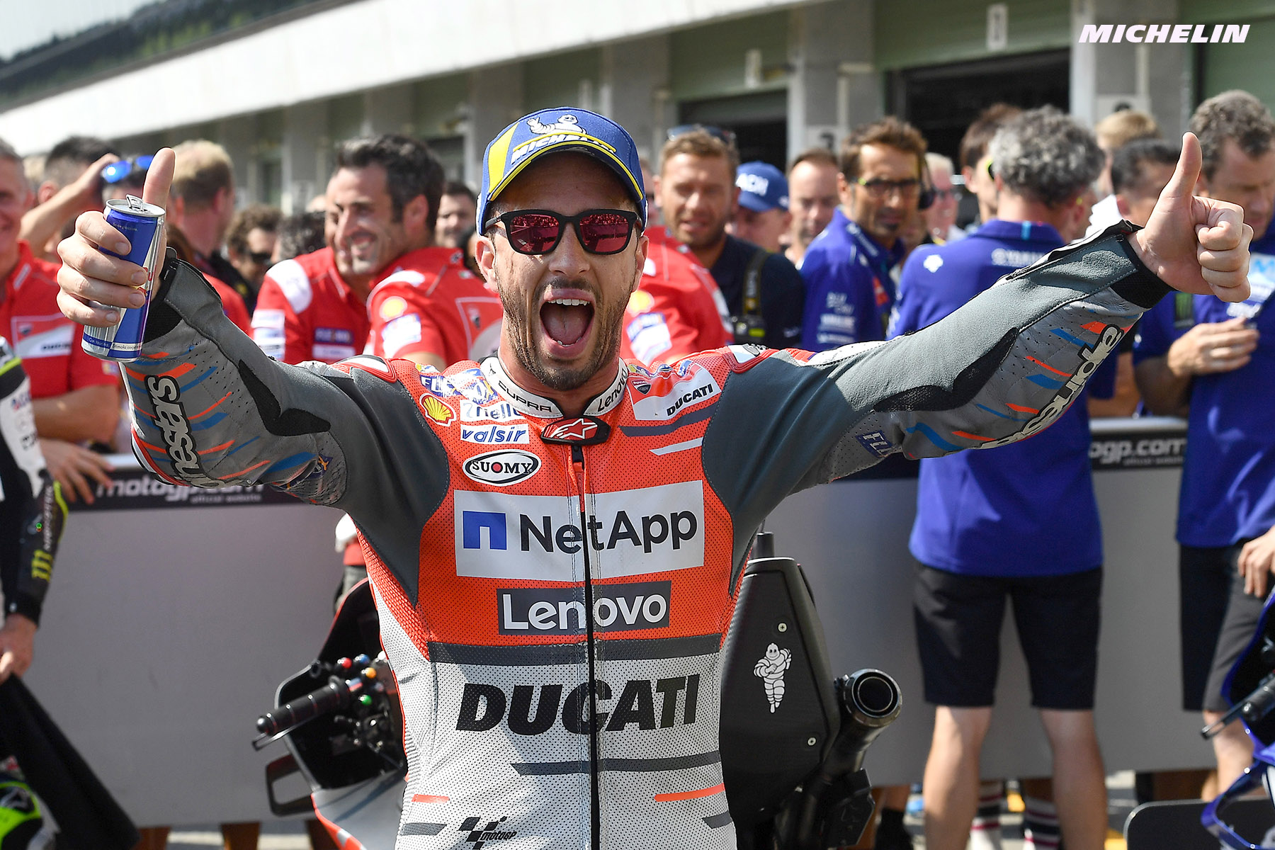 MotoGP™: Dovizioso heads Ducati Team/Michelin 1-2 finish at Brno