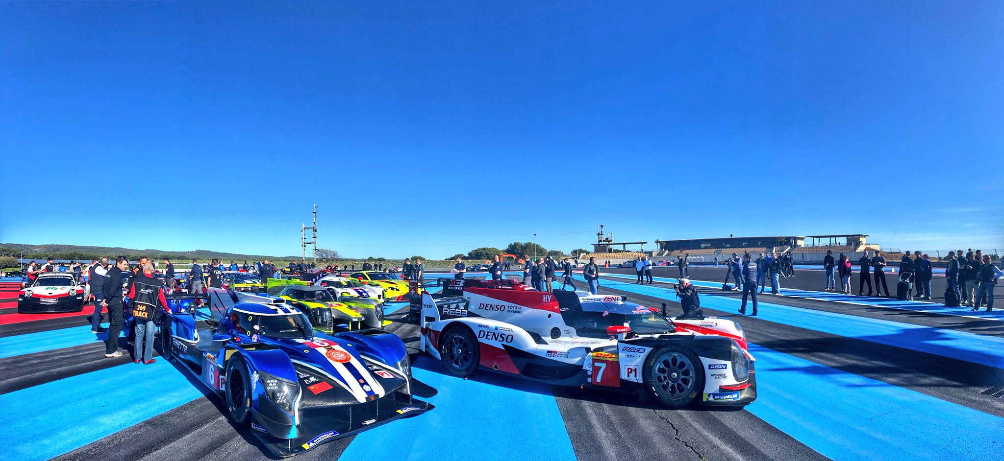 2018/2019 FIA WEC Prologue: 35 cars for Le Castellet shakedown
