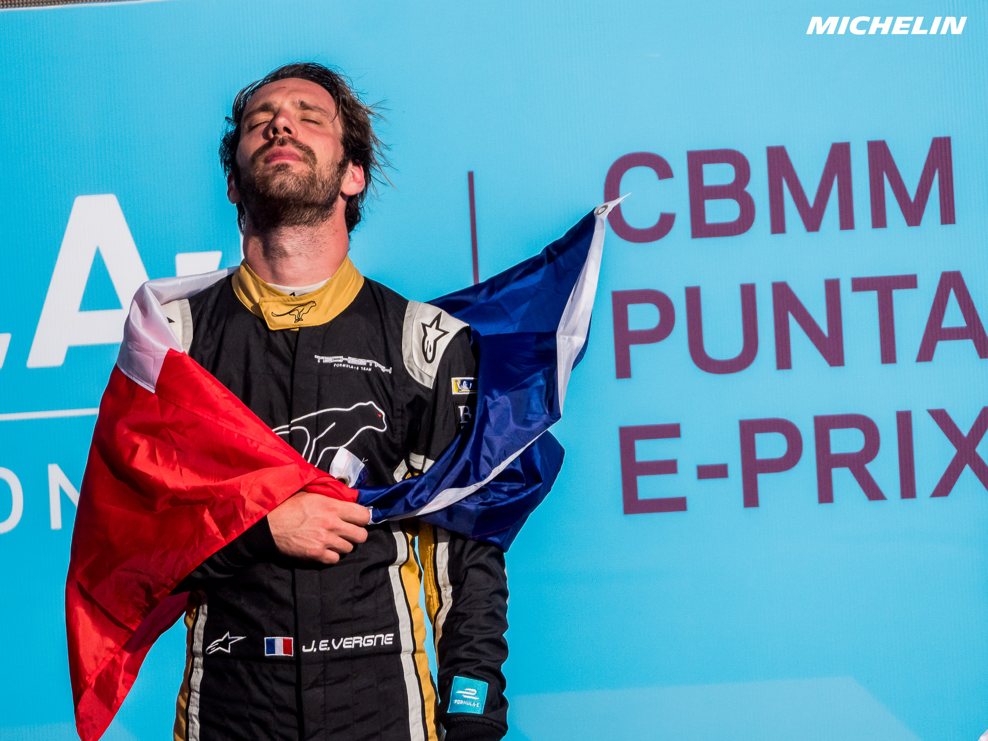 Vergne claims second Formula E victory